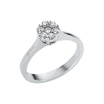 לונה יצירה Promessa טבעת אשליה 1U147W852-1 - רוחב טבעת: 52