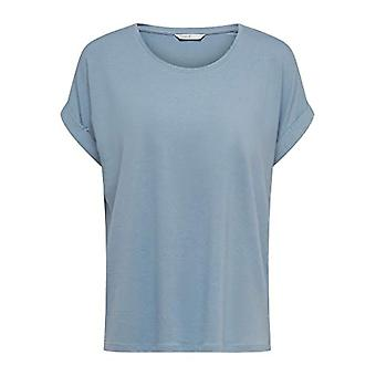 Bare ONLMOSTER S/S O-Neck Top Noos Jrs T-skjorte, Faded Denim, XS Woman