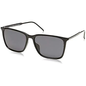טומי הילפיגר Th 1652/G/S משקפי שמש לגברים, שחור 55