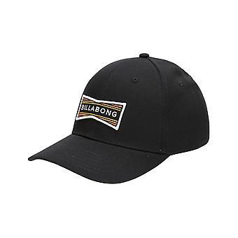 Billabong Walled Snapback Cap in Black