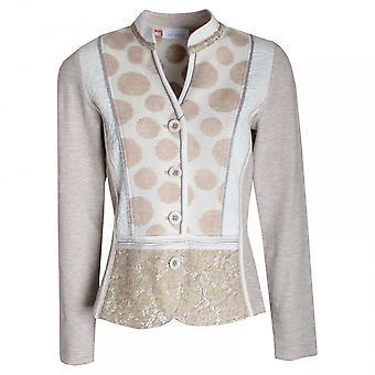 Just White Women's Casual Textured Blazer