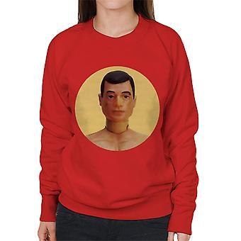 Action Man Character Head Women's Sweatshirt