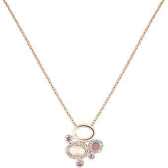 Spt01006 - halsband hänge Zeades hänge Rose Gold kristaller kvinna