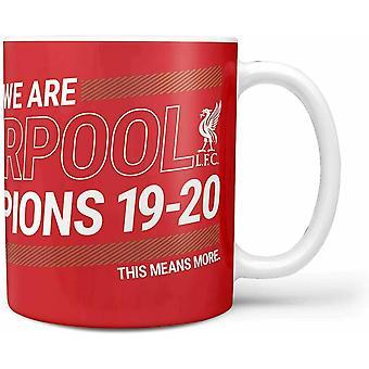 Liverpool FC Valioliigan mestarit 2019-20 Muki