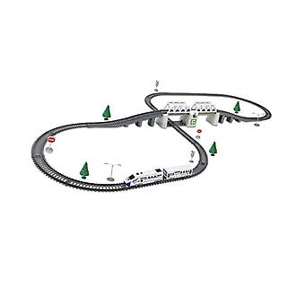 Kids Rc Trains Model, Electric Set,'s Railway Toy, Electric High-speed
