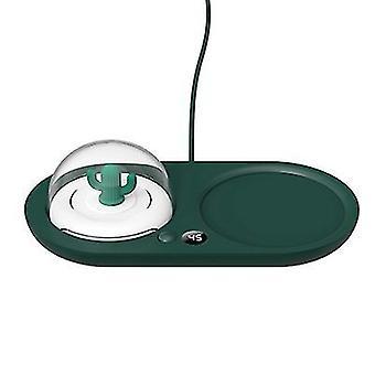 """Grüne Aromatherapie Nacht Licht warme Achterbahn 55 """" kreative smart Büro Zu Hause Milch Thermostat Heizung warme Untersetzer az18350"""