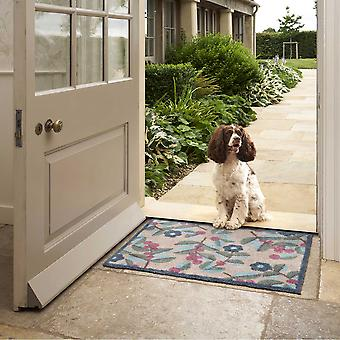 Dee Hardwicke Hedgerow Floral Doormats In Multi