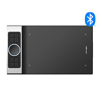 XP-PEN Deco Pro Bluetooth 5.0 Wireless Graphics Tablet (tamanho S) Design de roda dupla emparelhado com funcionalidade trackpad