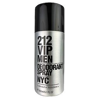 212 Vip mænd nyc af Carolina Herrera deodorant spray til mænd 5,1 ounce