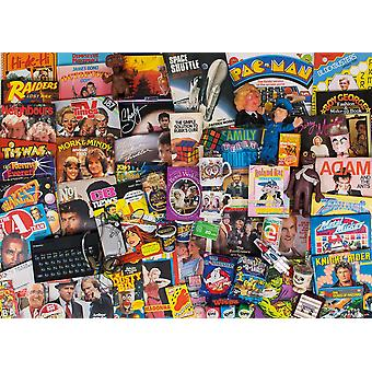 Gibsons Spirit Of the 80's Jigsaw Puzzle (1000 adet)
