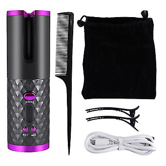 Anti-scalding automatic wireless curling iron for women