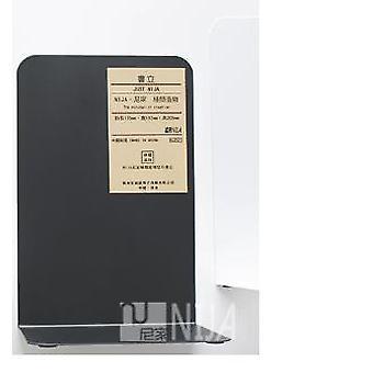 1 Pair Metal Bookends Organizer Desktop Office Home Book Support Shelf Storage Holder