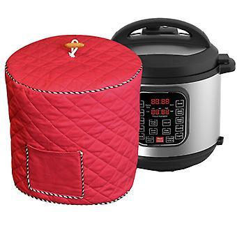 Capa da panela de arroz capa elétrica panela de pressão caixa impermeável 6/8 quart capa de poeira