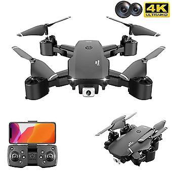 جديد ميني بدون طيار 4K كاميرات مزدوجة Quadcopter اللعب