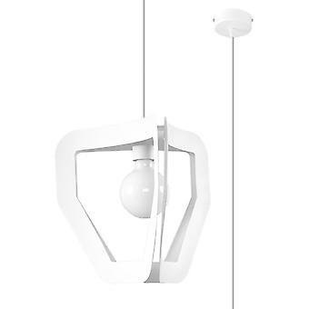 Sollux TRES SL.0929 Moderni lankakehys riipus Vaalea Valkoinen E27