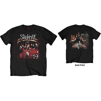 Slipknot - Debutalbum 19 Years Menn X-Large T-skjorte - Svart