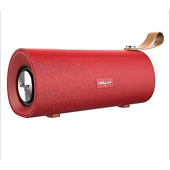 Stereo Bluetooth Speaker Draagbare Bas Subwoofer Boombox Draadloze Luidspreker Ondersteuning Luidsprekers (Rood)