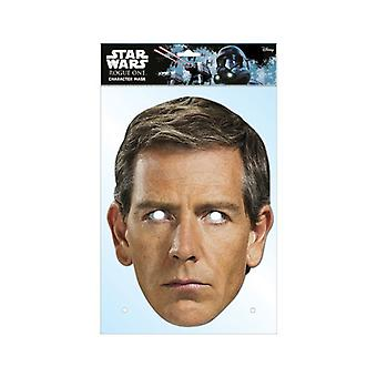 Orson Krennic Rogue One: A Star Wars Story Single 2D Card Party Fancy Dress Mask