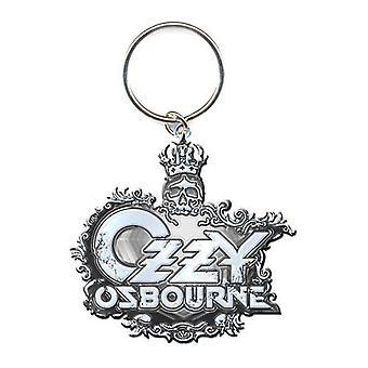 אוזי אוסבורן מחזיק מפתחות: לוגו סמל (תבליט יצוק למות)