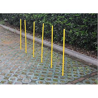 Portable Dog Training Practice Poles Agility Pole Set Gapping Adjustable
