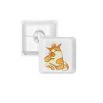 Painting Cat Keycap Keyboard
