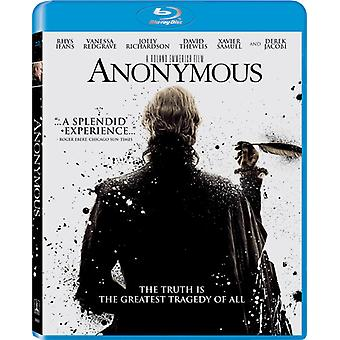 Anonym [BLU-RAY] USA import