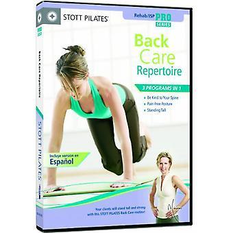 Stott Pilates: Back Care Repertoire [DVD] USA import