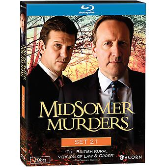 Midsomer Murders: Set 21 [BLU-RAY] USA import