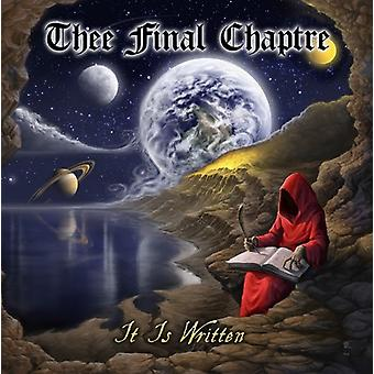 Thee Final Chaptre - It Is Written [CD] USA import