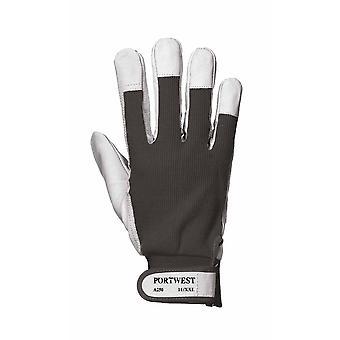 sUw - Tergsus Driver & Rigger Gloves (6 Pair Pack) - Svart - XX-Large