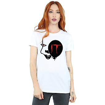 IT Women's Pennywise Smile Boyfriend Fit T-Shirt