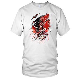 Zombie Horror Gore geript superheld Kids T Shirt