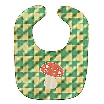 Carolines Treasures  BB6938BIB Mushroom Baby Bib