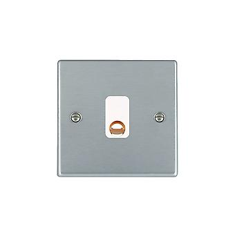 Hamilton Litestat Hartland Satin Chrome 20A Cable Outlet WH