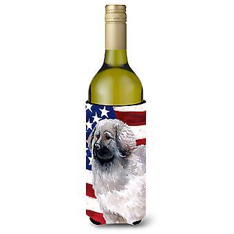 Moscow Watchdog patriótico botella de vino Beverge aislador Hugger