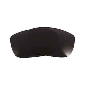 SeekOptics Replacement Lenses for SPY OPTICS DIRK Black UV400 Non-Polarized Polycarbonate