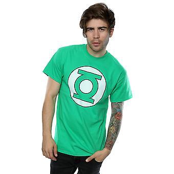 DC Comics Men's Green Lantern Logo T-Shirt