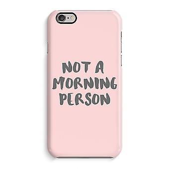 Caso do caso 3D do iPhone 6 6s (lustroso)-pessoa da manhã