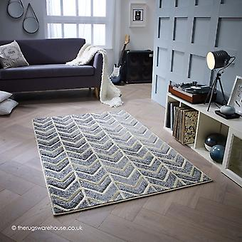 Portland pijlen grijs tapijt