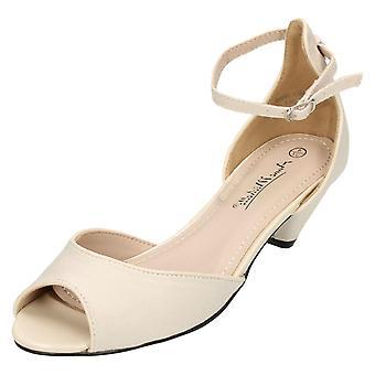 Ladies Anne Michelle Peep Toe Sandals F10588