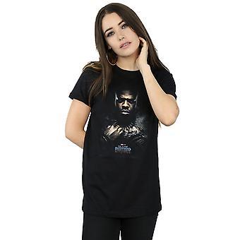 Marvel kvinder Black Panther M'Baku plakat kæreste Fit T-Shirt
