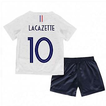 2018-2019 Frankrig lager Nike babysæt (Lacazette 10)