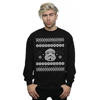 Stelle Wars Stormtrooper Christmas Fair Isle felpa