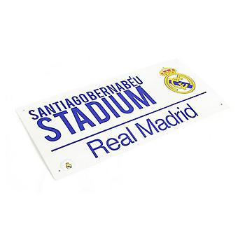 Real Madrid CF officiel Football stade rue signe