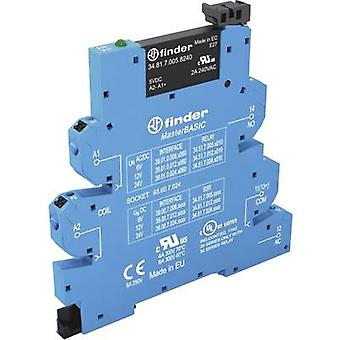 Finder SSR 39.00.7.012.9024 Current load (max.): 2 A Switching voltage (max.): 24 V DC 1 pc(s)