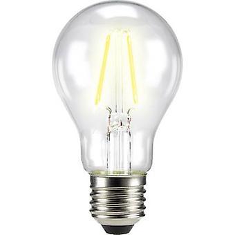 Sygonix LED (monochrome) EEC A++ (A++ - E) E27 Arbitrary 4 W = 40 W Warm white (Ø x L) 60 mm x 105 mm Filament 1 pc(s)