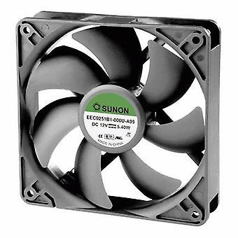 Sunon EEC0251B1-000U-A99 axiale ventilator 12 V DC 183,83 m³/h (L x b x H) 120 x 120 x 25 mm