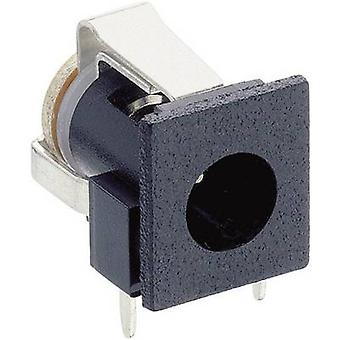 Lumberg NEB 1 R lage voedingsconnector Socket, horizontale mount 6.6 mm 1.9 mm 1 PC('s)