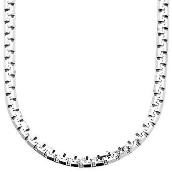 925 الاسترليني الفضة البندقية سلسلة-البندقية 5، 6 مم