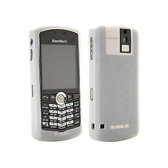 OEM BlackBerry 8100, 8100c Pearl Gel Case - Blanco